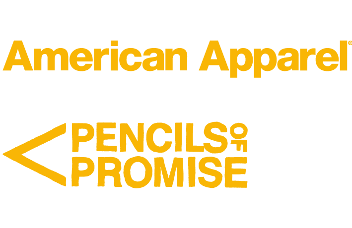 American Apparel Pencils of Promise