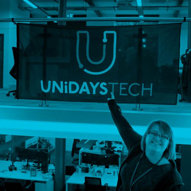 UNIDAYS Tech flag